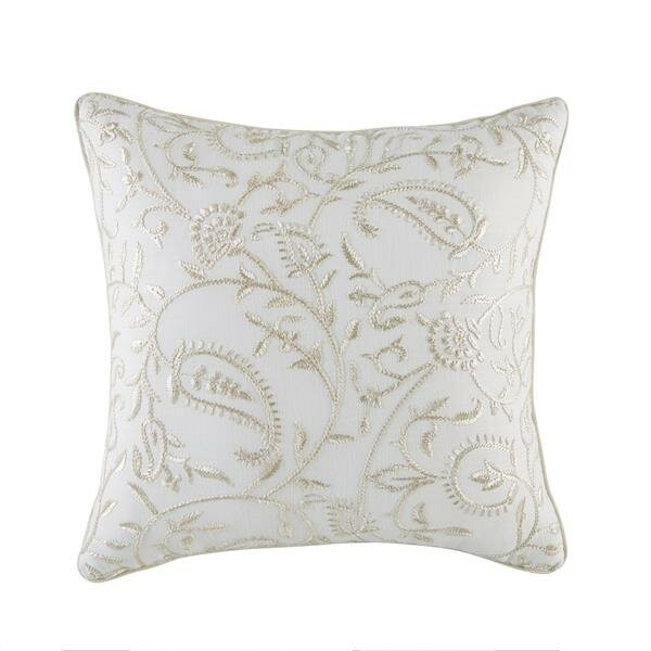 Cela Fashion 100% Cotton Throw Pillow by Croscill Home Fashions